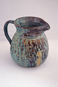 Blue Pitcher - by Sheila Brenchley
